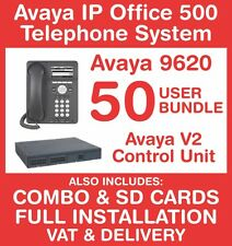 Avaya IP Office 500 Phone System (New with Refurb handsets) - 50 user - Inc VAT