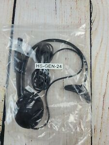 Nuance Dragon Mono Ear USB Headset With Microphone HS-GEN-24 - New!