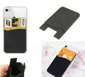 Wallet Sticky Card Cash Pocket Stick on Adhesive Holder Pouch Phone Case UK 1DAY