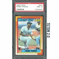 Frank Thomas RC Rookie 1990 Topps #414 PSA 9 Mint White Sox HOF Hall Of Fame MVP
