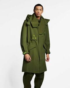 Nike NikeLab ACG Gore-Tex Hooded Coat Olive Green AQ3516-395 Size M $650