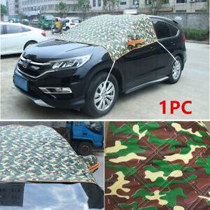 Universal Car Windshield Cover Sun Shade Protector Winter Rain Dust Frost Guard