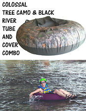 Colossal InnerTube, Rafting Tube Cover Combo, River Tube Combo CAMO