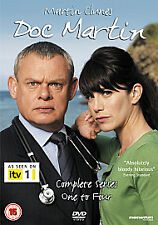 Doc Martin Series 1-4 Dvd Martin Clunes Brand New & Factory Sealed