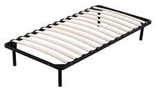 NEW BED FRAME BED BASE SINGLE WOODEN SLAT METAL BED FRAME