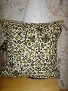 MADE IN LIBERTY FABRIC PETRONELLA CHINZ ANTIQUE  CUSHION COVER FOR 16in  pad