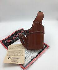 Fits SIG 220 226 229 + Light | Aker Leather OWB Belt Holster 167 Nightguard RH