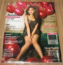 MAXIM RAINBOW KOREA ISSUE MAGAZINE + CALENDAR 2015 JAN JANUARY NEW