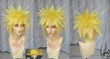 Naruto Namikaze Minato (need styled) Anime Cosplay Costume Wig +CAP +Track No
