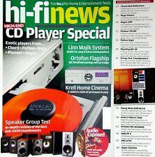 HI-FI NEWS KRELL PIONEER PD-D9 NAGRA CDP REGA SATURN AKG 701 MISSION E52 NAD PP2