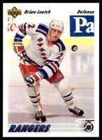 1991-92 Upper Deck Brian Leetch #153