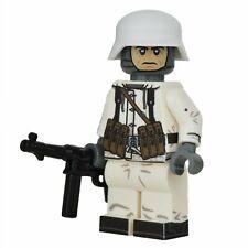 Lego Custom WW2 WINTER GERMAN Full Custom Printing -NEW- Brickarms MP40