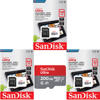 SanDisk Micro SD Card Ultra Memory Card 16GB 32GB 64GB 256GB Wholesale lot