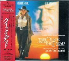 "Alan Silvestri ""THE QUICK AND THE DEAD"" score Japan SLC CD different cover art"