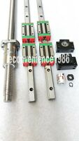 HGR20--500/500/650mm Linear rail &DFU1605--366/566/566/566mm Ballscrew &BF/BK