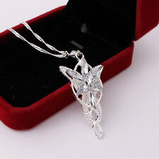 New Fashion Lord Of The Rings pendant Arwen's Evenstar Necklace Jewerly