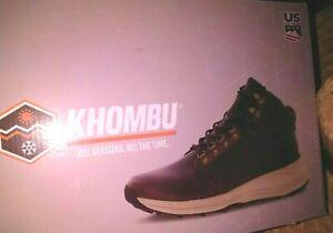 Khombu Men's Nick Hiking Boots  Size 9   New in Box