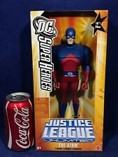"NEW - 10"" THE ATOM Figure JUSTICE LEAGUE UNLIMITED 2005 - ""Mini"" Included Mattel"
