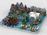 Lego Modular Ocean Building Instructions (Build from 5 MOCs)