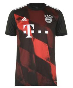 BAYERN MUNICH Mens Black 2020/21 Adidas 3rd Away Kit Football Shirt XXL 2XL BNWT