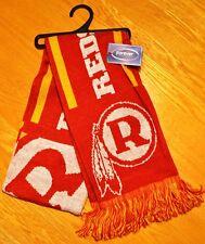 Washington Redskins Knit Winter Scarf Double Sided Retro Throwback Logo New