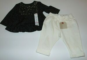 ~NWT Girls JUMPING BEANS & ZARA BABY Stars Outfit! Size 3-6 Months Super Cute:)*