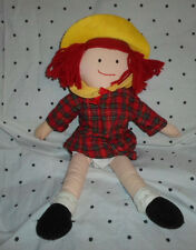 Eden Madeline Storybook Rag Doll Plush Soft Toy Stuffed Animal