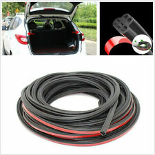 5M Rubber Double Layer L Shape Sealing Strip Soundproof Fit For Car Door Trunk
