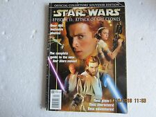 STAR WARS' SOUVENIR AND LIMITED EDITION MAGAZINES 1999 & 2002