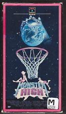 Monster High VHS RARE HORROR