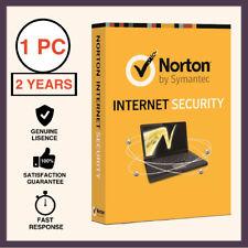 Norton Internet Security Premium Antivirus 2018 1 PC 2 Years - Global License