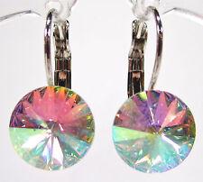 Runder Mode-Ohrschmuck aus gemischten Metallen mit Schnappverschluss