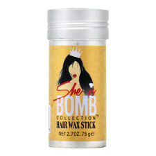 She Is Bomb Collection Hair Wax Stick 2.7oz / with Free Nail File