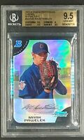 2005 Bowman Chrome Draft Picks Refractors #BDP101 Mark Pawelek RC Rookie BGS 9.5