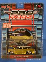Maisto Pro Rodz '55 Chevy Nomad 1:64 Pro-Touring Diecast Collection Detailed Eng