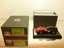 BBR BBR86C FERRARI 250 GT BREADVAN - TEST - RED + BLACK 1:43 - EXCELLENT IN BOX
