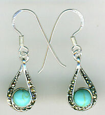 Unbranded Turquoise Hook Fine Earrings