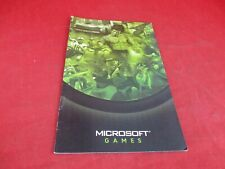 Microsoft Xbox Games Booklet Catalog Only Halo Bruce Lee Azurik Oddworld
