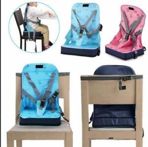 Kinder Boostersitz Sitzerhöhung Tischsitz Reisehochstuhl Baby Hochstuhl Popular