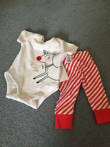 baby girl bodysuit set size 000 christmas bodysuit two piece suit
