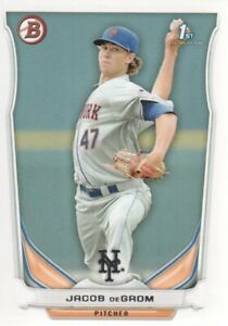 2014 Bowman Prospects Baseball #BP73 Jacob deGrom