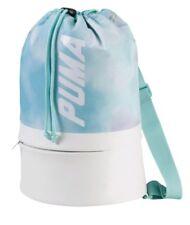PUMA Archive Women's Prime Bucket Bag Backpack Sport Classics Teal NEW