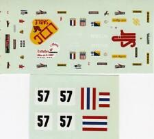 FERRARI 365 GTB4 DAYTONA N°57 MIGNOT LE MANS 1974 DECALS 1/43