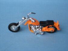 MATCHBOX Harley Davidson Moto Chopper motorcylce Arancione 80 mm di lunghezza