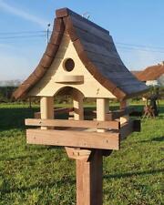 VOGELHAUS aus HOLZ  Vogelhäuschen Vogelfutterhaus Vogelhäuser XL/Ständer/Hängend