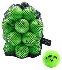 9 Callaway Golf HX Soft Practice Balls - Lime Green 30% Balls Ideal Aid Ball