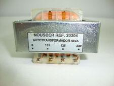 AUTO TRANSFORMADOR DE RADIO ANTIGUA DE 230V A 125V 45VA. R12-20304 ..3
