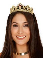 Prinzessin Krone Kostüm Gold Diadem Prinzessin Eleonor
