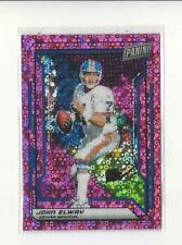 2019 Panini National Convention VIP Party Pink #18 John Elway Broncos /50
