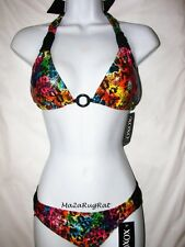 XOXO Padded Halter Bikini Swimsuit  NWT  M Spring Break!
